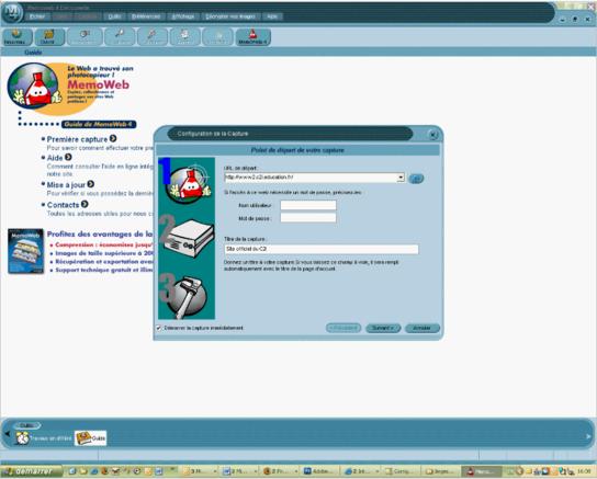 logiciel pour aspirer un site web